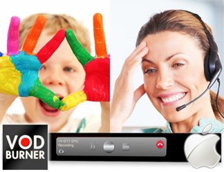 VodBurner for Mac - record skype mac free